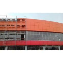 Фасад из композита