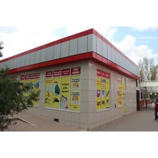 Фасад из алюминиевых композитных панелей