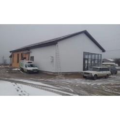 Строительство каркасной пристройки к зданию