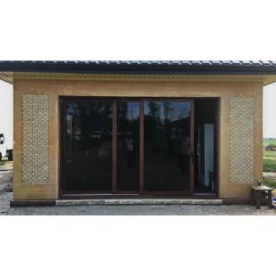 Двери подъемно-сдвижные теплые